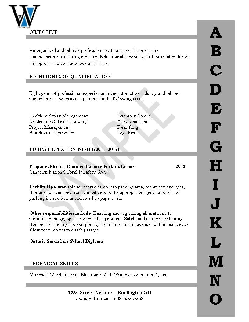 Entry Level Resume & Cover Letter – The Writology