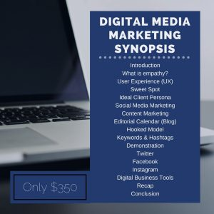 Digital Media Marketing Synopsis